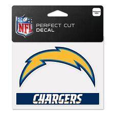 "San Diego Chargers 4""x5"" Perfect Cut Decal [NEW] NFL Auto Car Emblem Sticker CDG"