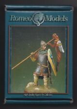 ROMEO MODELS RM54028 - CAVALIERE NORMANNO 1066 - 54mm WHITE METAL KIT