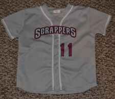 Mahoning Valley Scrappers Baseball Jersey SGA Youth XL Nice Indians Warren OH