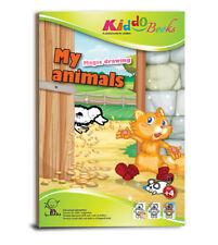 QuackDuck Malbuch My Animals - Meine Tiere - Malbuch mit magischem Zauberpapier