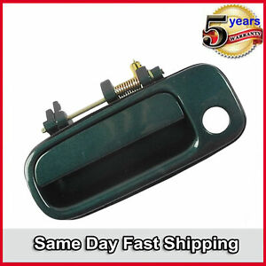 Outside Door Handle Front Left For 92-96 Toyota Camry Classic Green Pearl 6P2