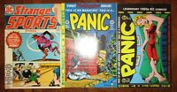 Strange Sports Stories 1 1973 DC Panic EC comics 1 5 Gemstone Reprints