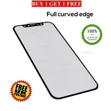 Genuine tempered glass Edge to Edge Black screen protector for iPhoneX IPhone 10