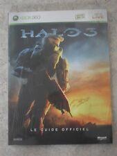 Guide Officiel HALO 3 pour console XBOX 360 neuf