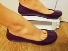oka b Purple Shoes Womens Size 8 Round Toe Ballet Flats Spring Summer Footwear