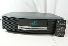 New listing Bose Wave Radio Music System Iii Cd Player Black Am/Fm Aux Cd w/ Remote