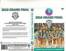 Netball-Adelaide Thunder Birds-2010 Grand Final-[110 Minutes]-Netball-DVD