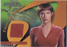 Star Trek 40Th Anniversary C35 T'Pol Costume Card Enterprise