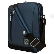 Navy Blue Shoulder Messenger Bag case for Samsung Galaxy Tab S2 / Tab A 9.7