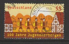 Germania 2009 Centenario di jugenderbergen (OSTELLI DELLA GIOVENTù) SG 3616 fu