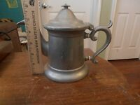 Antique Wilton Armetale Tea Pot ?  Marked U.S.A. RWP Very Sturdy