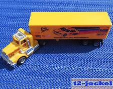 Para Coche Slot Racing Maqueta de tren Tyco Truck con remolque