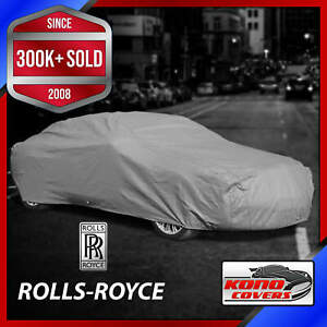 ROLLS ROYCE [OUTDOOR] CAR COVER ✅ All Weather ✅100% Full Warranty ✅ CUSTOM ✅ FIT