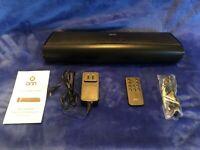 """Onn 16"""" Bluetooth SOUNDBAR 2.0 Channel 120 Watts Remote Control ONA18SB001"""
