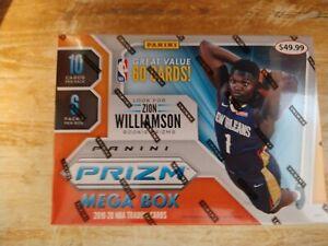 2019-20 Panini Prizm Basketball Mega Box Target (60 cards)