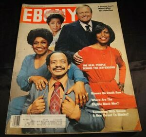 Ebony Magazine September 1980 Cast of the Jeffersons 13x11 Journal