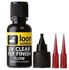 LOON UV CLEAR FLY FINISH FLOW - ultra thin - replaces head cement fly tying