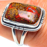 Moroccan Agate 925 Sterling Silver Ring Size 8 Ana Co Jewelry R58775F