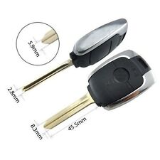 2BTN Replacement Key Case FOB Shell For SSANGYONG Actyon Kyron Rexton key Cover