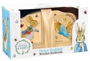 Beatrix Potter Peter Rabbit Wood Bookends
