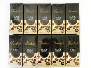 10 Boxes Issaline Black Nero Nior Ganoderma Coffee Gourmet Reishi Expiry 2022