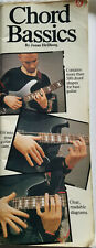 Chord Basics by Jonas Hellborg Bass Guitar book Acceptable Condition fits n case