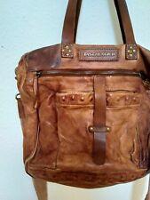 Handtasche Tasche Leder Braun Taschendieb Vintage Look