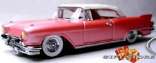 RARE KEY CHAIN 1957/1958 PINK & WHITE TOP CADILLAC ELDORADO CONVERTIBLE MARY KAY