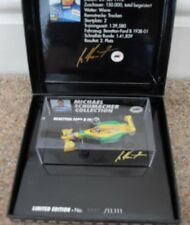 MICHAEL SCHUMACHER COLLECTION 1993 HOCKENHEIM BENETTON B193 193-B MSC MINICHAMPS
