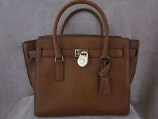MICHAEL KORS 30F4GHXS3L Hamilton Traveler Luggage Leather Handbag Tote Purse NWT