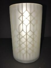 YANKEE CANDLE Shimmering Lattice LARGE Or MED Jar Candle Holder NWT