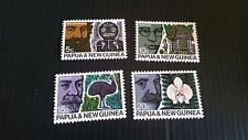 PAPUA NEW GUINEA  1970 SG 183-186 42ND ANZAAS  MNH