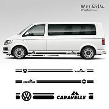 Volkswagen VW Transporter Côté Rayures Autocollant Caravelle T4 T5 véhicule T6 graphique