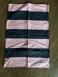 Jack Wills Classic Navy Pink Stripe Pillowcase