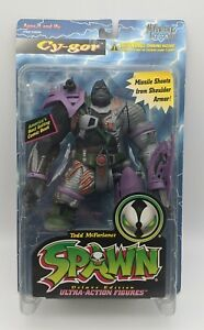 NEW Cy-Gor Purple Armored Spawn Series 4 Figure NIB McFarlane 1996