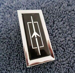 NEW NOS GM Oldsmobile 78-79 Regency CHROME Metal Tail Light Lens Ornament Emblem