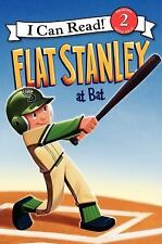 Flat Stanley at Bat by Jeff Brown (2012, Hardcover)