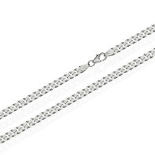 925 Sterling Silber Kette PANZERKETTE 80cm Königskette 2,70mm Breit 15,6gr 1827