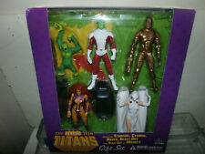DC Universe Direct Teen Titans Box Set  -  BEAST BOY RAVEN CYBORG STAR FIRE