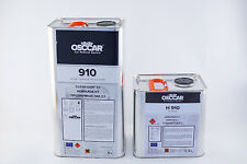 OSCCAR 910 2K CLEARCOAT 7.5L kit ANTI SCRATCH LACQUER FAST HARDENER/ACTIVATOR