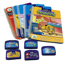 Leap Pad Leap Frog Book and Cartridge Lot Of 5 Scooby Doo And Others