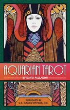 Aquarian Tarot Deck Cards NEW IN BOX David Palladini Art Deco