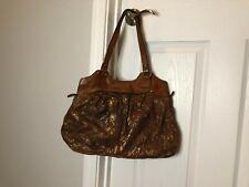 New ListingPatricia Nash Italic Satchel Leather Handbag Shoulder Bag