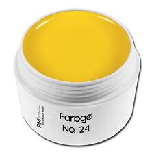 5ml UV Farbgel Gelb Zitrone Colorgel Nails Nageldesign Nailart #00730-24