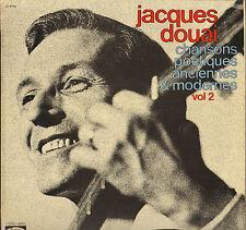 """JACQUES DOUAI """"CHANSONS POETIQUES VOL. 2"""" LP BAM 5714"""