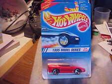 Hot Wheels 1995 Model Series Camaro Convertible Red with 3 Spoke Wheels