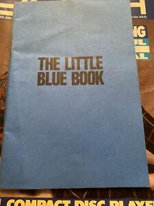 The Little Blue Book 1980s Social History Sexual Health Anatomy Guidance