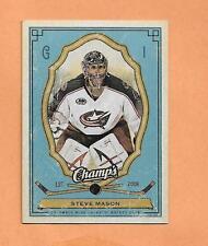 STEVE MASON  UPPER DECK CHAMPS 2009-10 CARD # 29