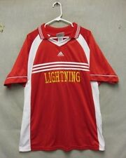 W4194 Adidas Jersey #49 Short Sleeve - Xl - Red/White Shirt