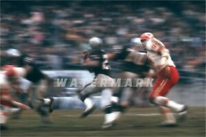 KANSAS CITY CHIEFS at OAKLAND RAIDERS Print (comes in 4 sizes)